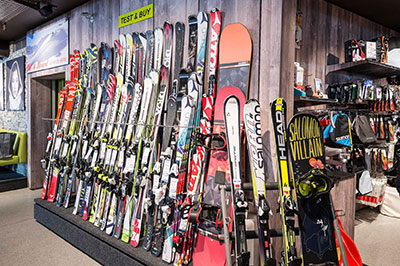 Skirental in Kaprun